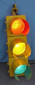 8 inch Lens Traffic Light AS IS Model